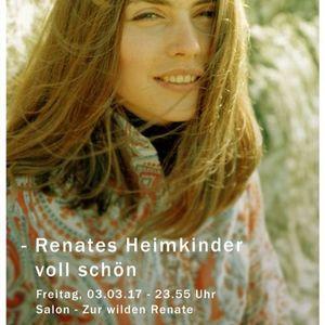 Sebastian Kremer @ Renates Heimkinder - Salon Zur Wilden Renate. 03.03.2017