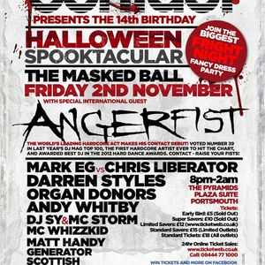 Angerfist @ Contact presents The 14th Birthday