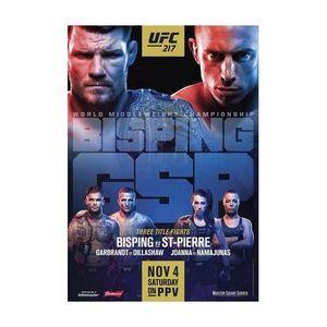 411 Ground and Pound Radio Show: UFC 217 Preview