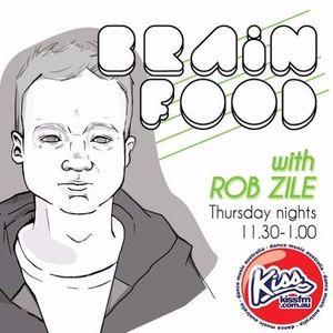 Brain Food with Rob Zile/KissFM/16-03-17/#2 TECHNO