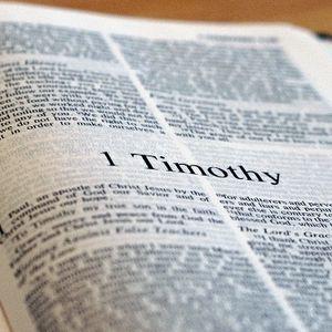 15th October 2017 (Evening) – Rev. John Williams – 1 Timothy 3