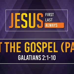 Trust The Gospel (Part 2) (Audio)