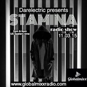 Stamina Radio Show November 2015