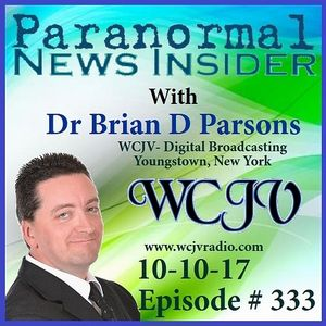 Paranormal News Insider with Dr. Brian Parsons #333
