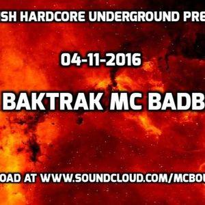 DJ BAKTRAK MC BADBOY 4-9-2016