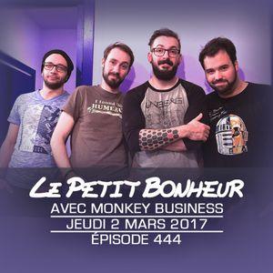 LPB #444 - Monkey Business - Jeu - Lancement de podcasts et talents gaspillés