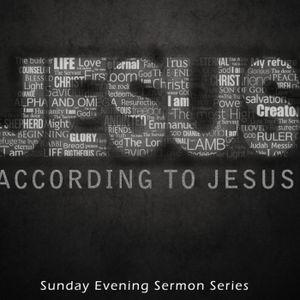 """Jesus According to Jesus"" Sermon Series Part I - ""Jesus: Bread of Life"""
