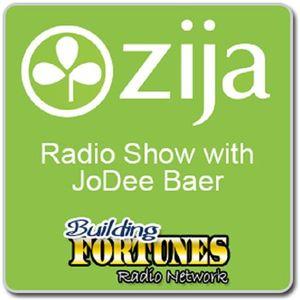 Zija Jodee Baer and Znationlive Blog & Peter Mingils on Building Fortunes Radio