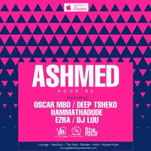 Ashmed Hour 89 // Main Mix By Oscar Mbo [Macnose Cafe, Soshanguve Live Recording]
