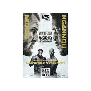 411 Ground and Pound Radio Show: UFC 220 Preview