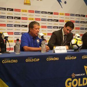 Gold Cup Postgame - Panama Coach Hernan Dario Gomez