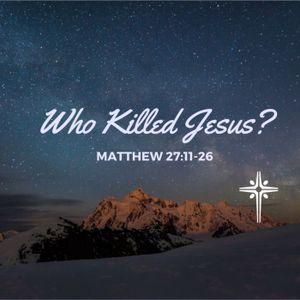 03-26-2017 Matthew 27:11-26
