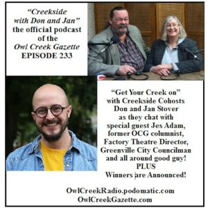 Creekside with Don and Jan, Episode 233