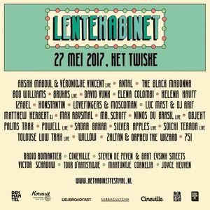 Mr. Scruff - live @ Lente Kabinet Festival 2017 (Amsterdam)
