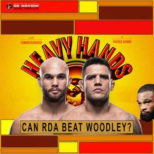190 - Can Rafael Dos Anjos beat Tyron Woodley?