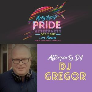 DJ Gregor's Morehead Pride Festival's Afterparty promo podcast Vol. 1