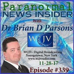 Paranormal News Insider with Dr. Brian D. Parsons_339