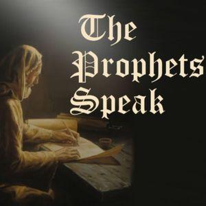 """""""The Prophets Speak"""" Sermon Series Part VI - """"A Visionary Prophet"""""""