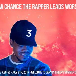 How Chance The Rapper Leads Worship