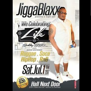 ROADKODE MUZIC AT JIGGA BLAXX BIRTHDAY BBQ SATURDAY 1ST JULY 2017