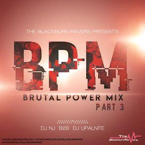 DJ NJ b2b Upalnite - Brutal Power Mix (BPM) - Part 3