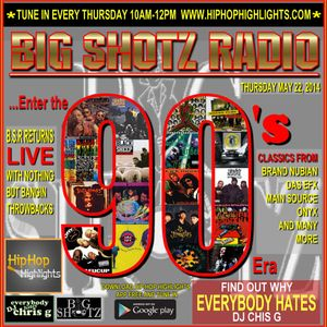 DJ Chris G 90's Era Throwback Radio Mix Mixed By DJ Chris G