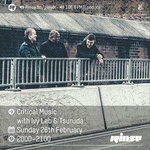 Critical Sound No.40   Ivy Lab & Tsuruda   26.02.2017