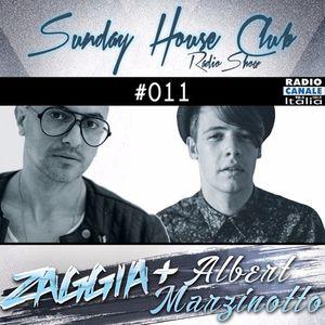 SUNDAY HOUSE CLUB @ Radio Canale Italia #011 | ZAGGIA + ALBERT MARZINOTTO | free download
