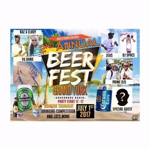 2ND ANNUAL BEER FEST JULY 1ST FEATURING DJ SPACE AND DJ POP