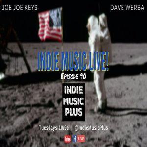 Indie Music LIVE! 90 - The New ResistANTs, Sam Rochford, Ed Roman, Rap DNA, Hicks