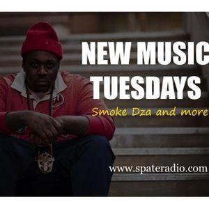 Spate Radio New Music Tuesdays with Smoke Dza and more..