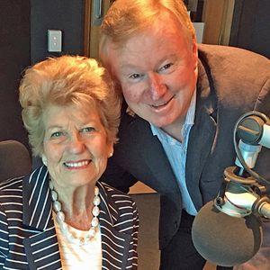 Legendary performer Mary Schneider in studio with Denis Walter