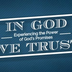 In God We Trust, My Plans Are For You To Prosper (Audio)