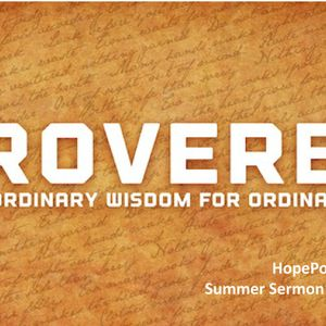Proverbs: Seeking Counsel