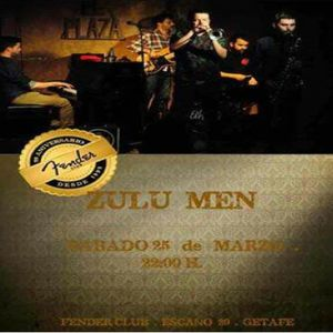 Zulú Men en el @fenderclub