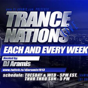 DJ Aramis Trance Nations Ep 381