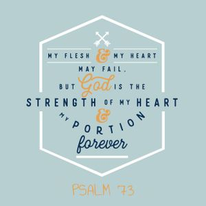 155 The Lord Is My Strength (Psalm 73) May 21st 2017