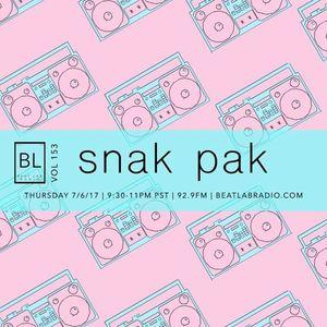 Snak Pak - Exclusive Mix - Beat Lab Radio 153
