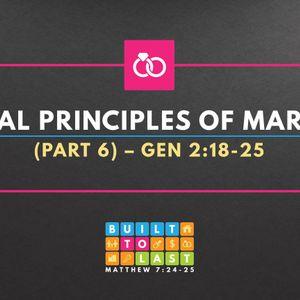 Biblical Principles Of Marriage (Part 6) (Audio)
