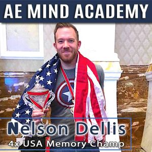 Nelson Dellis 4x USA Memory Champ - AI, Alzheimer's, Memory, The Universe, and More
