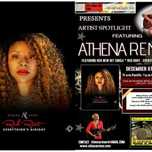 LOTL Radio Welcomes Athena Renee.latest single Red Root: Everything's Alright