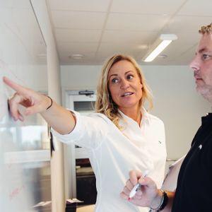 186 Ledarskap kräver ständig träning - Therese van der Kruit