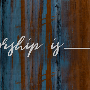Worship Is About God (Audio)