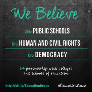"Episode 27: Education Deans are on the ""EDJE"" of Justice and Equity"