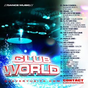 Clubworld Mixed By Avery Usita 007 Podcast - Dance