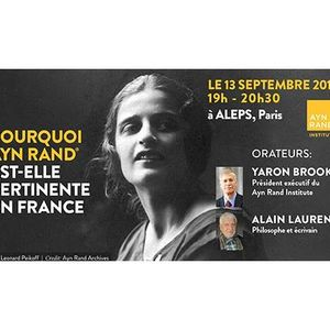 Who is Ayn Rand and Why is She Relevant in France?