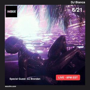 DJ Bianca w/ DJ Brendan on @WAXXFM - 06/21/17