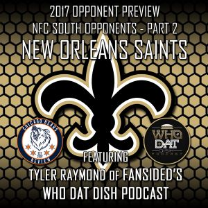 2017 Opponent Preview #8 - New Orleans Saints