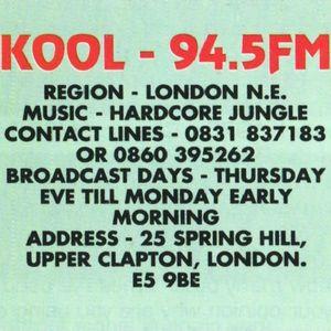 Easy D - Kool 94.5 FM - 20th November 1994