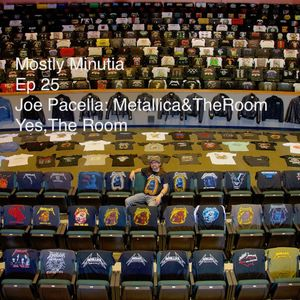 Ep25 Joe Pacella: Metallica&The Room.  Yes, The Room.
